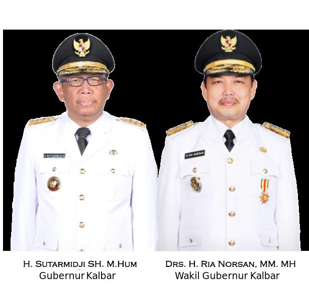 Gubernur dan Wakil Gubernur Prov Kalbar
